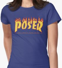 Poser Women's Fitted T-Shirt