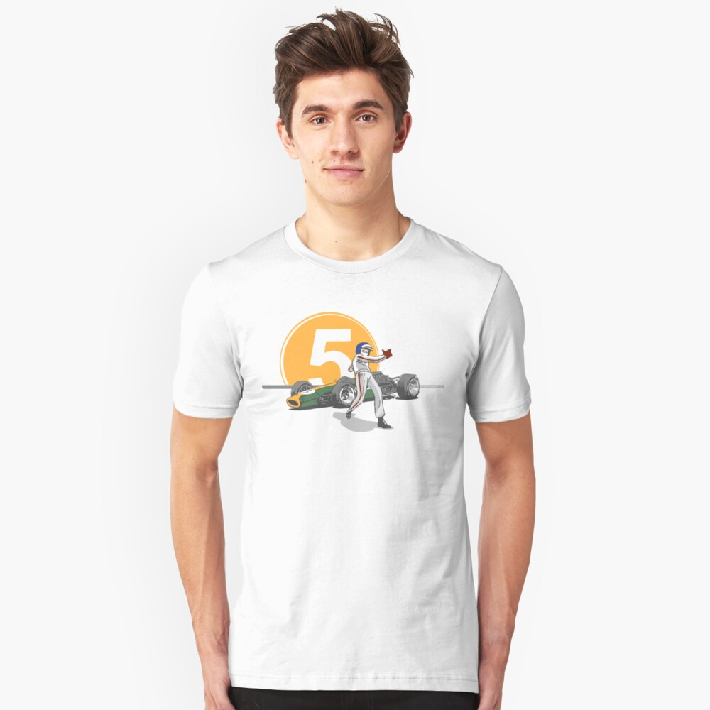 Speed Racer - Jim Clark Slim Fit T-Shirt