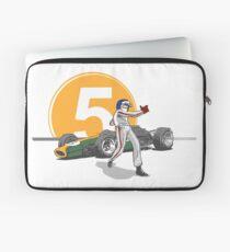 Speed Racer - Jim Clark Laptop Sleeve