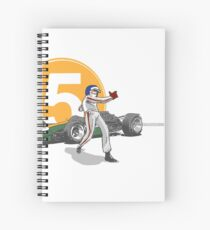 Speed Racer - Jim Clark Spiral Notebook