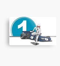 Speed Racer - Jackie Stewart Metal Print