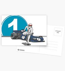 Speed Racer - Jackie Stewart Postcards