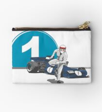 Speed Racer - Jackie Stewart Zipper Pouch