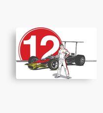 Speed Racer - Mario Andretti Canvas Print