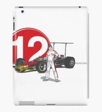 Speed Racer - Mario Andretti iPad Case/Skin