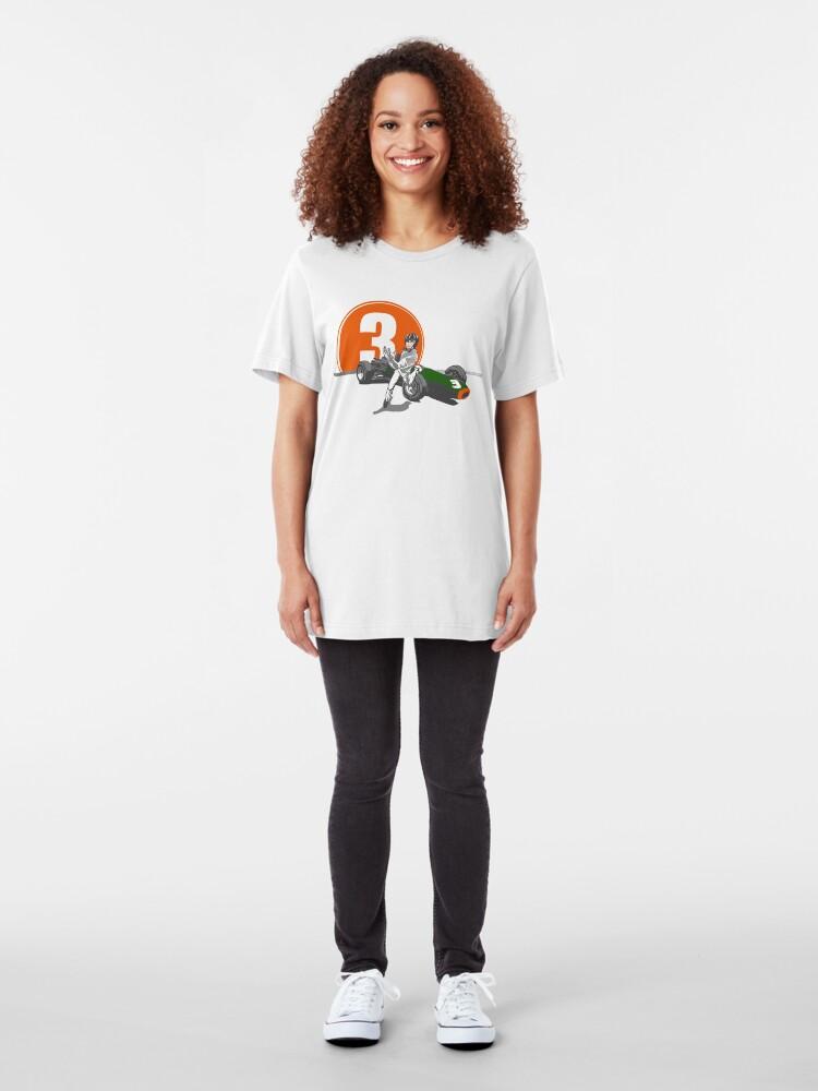 Alternate view of Speed Racer - Graham Hill  Slim Fit T-Shirt