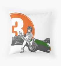 Speed Racer - Graham Hill  Throw Pillow