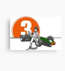 Speed Racer - Graham Hill  Canvas Print