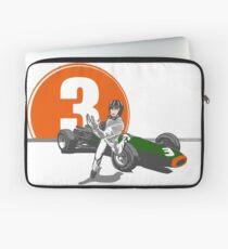 Speed Racer - Graham Hill  Laptop Sleeve