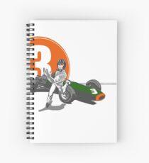 Speed Racer - Graham Hill  Spiral Notebook