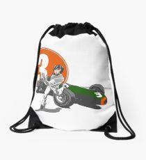 Speed Racer - Graham Hill  Drawstring Bag