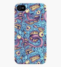 Eyeballs and Teeth Pattern iPhone 4s/4 Case