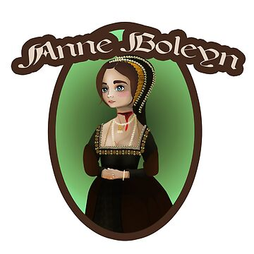 Anne Boleyn #04 -  vector art by vixfx