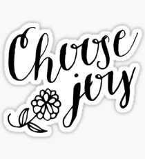 Choose Joy Sticker