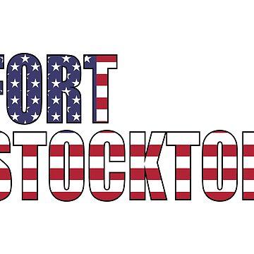 Fort Stockton Texas by Obercostyle