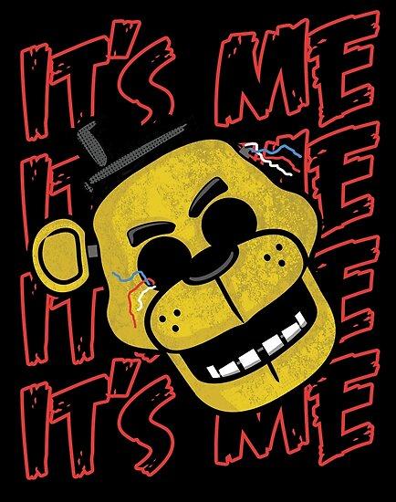 Fünf Nächte bei Freddy ist es Golden Freddy von fnaftees