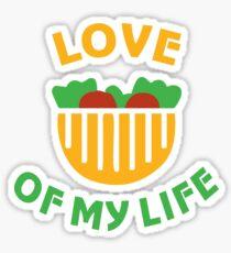 Design for vegetarians Sticker