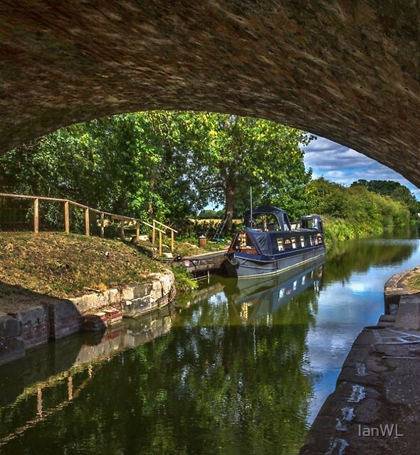 Under The Bridge At Pewsey Wharf by IanWL