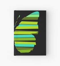 Strip butterfly Hardcover Journal