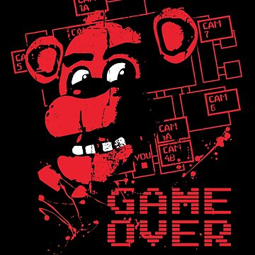 Five Nights At Freddy's Pizzeria Game Over by fnaftees