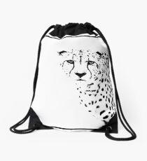 Cheetah Drawstring Bag