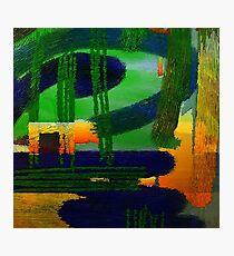 Abstrakte Landschaft Photographic Print