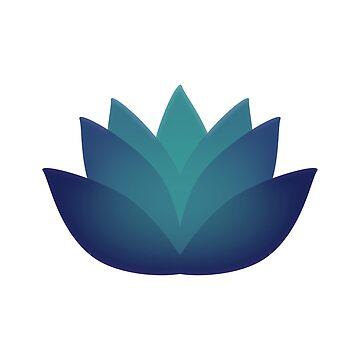 Beautiful Underwater Lotus Flower  by Eggtooth
