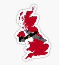 British Fighter Sticker