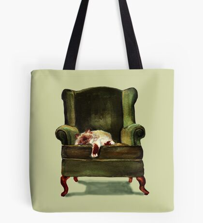 Monkey the Cat Tote Bag