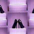 Black High Heel Shoes by GemaIbarra