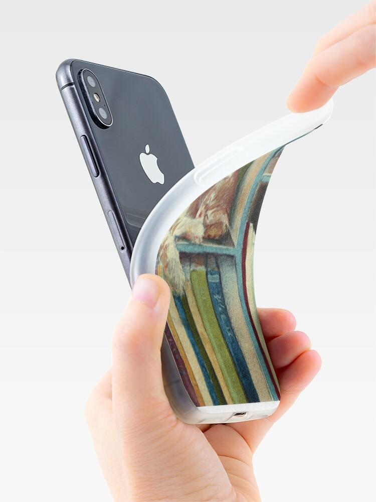 Vista alternativa de Funda y vinilo para iPhone Bastante bien leído