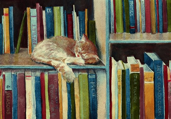 Quite Well Read by Sarah  Mac Illustration