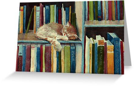 «Bastante bien leído» de Sarah  Mac Illustration