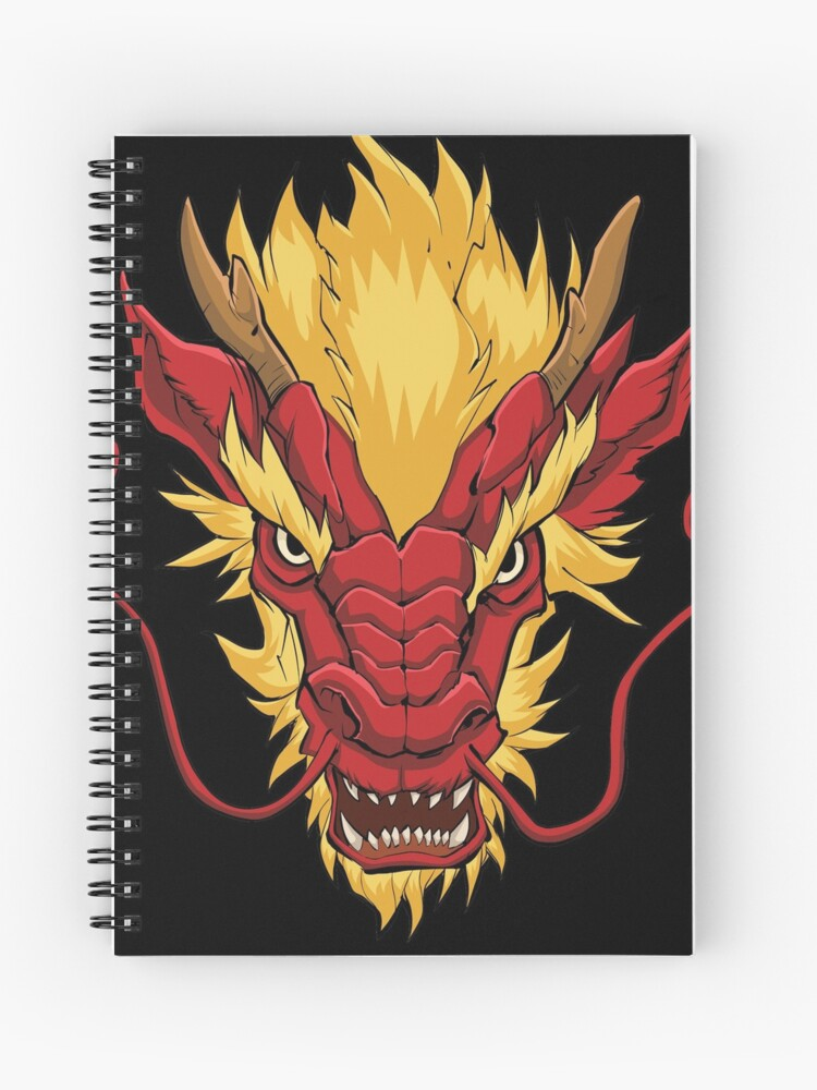 53ae02a9f Chinese Dragon Head Red