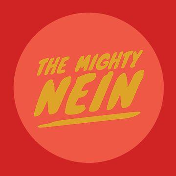 Mighty Nein Retro Logo - Ember by JMendezArt