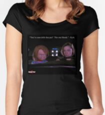 Child's Play 2 - Kyle & Chucky Women's Fitted Scoop T-Shirt