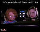 Child's Play 2 - Kyle & Chucky by Christine Elise McCarthy