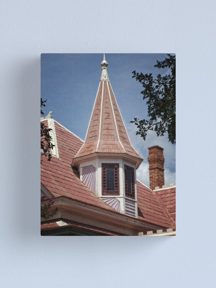 Alternate view of Victorian Spire Canvas Print