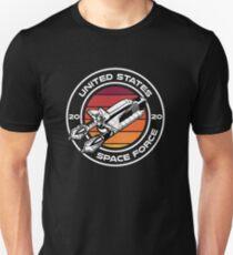 Camiseta ajustada USSF Logo Badge Emblem Seal Shirt Estados Unidos Space Force Tshirt Trump 2020 T-shirt Space Shuttle Art