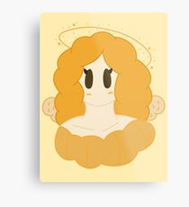 Lovely angel bust Metal Print