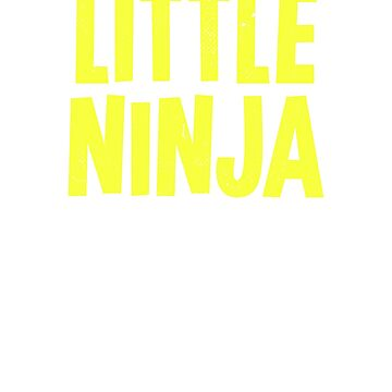 Little Ninja T Shirt Cute Ninja Shirt by trippeh