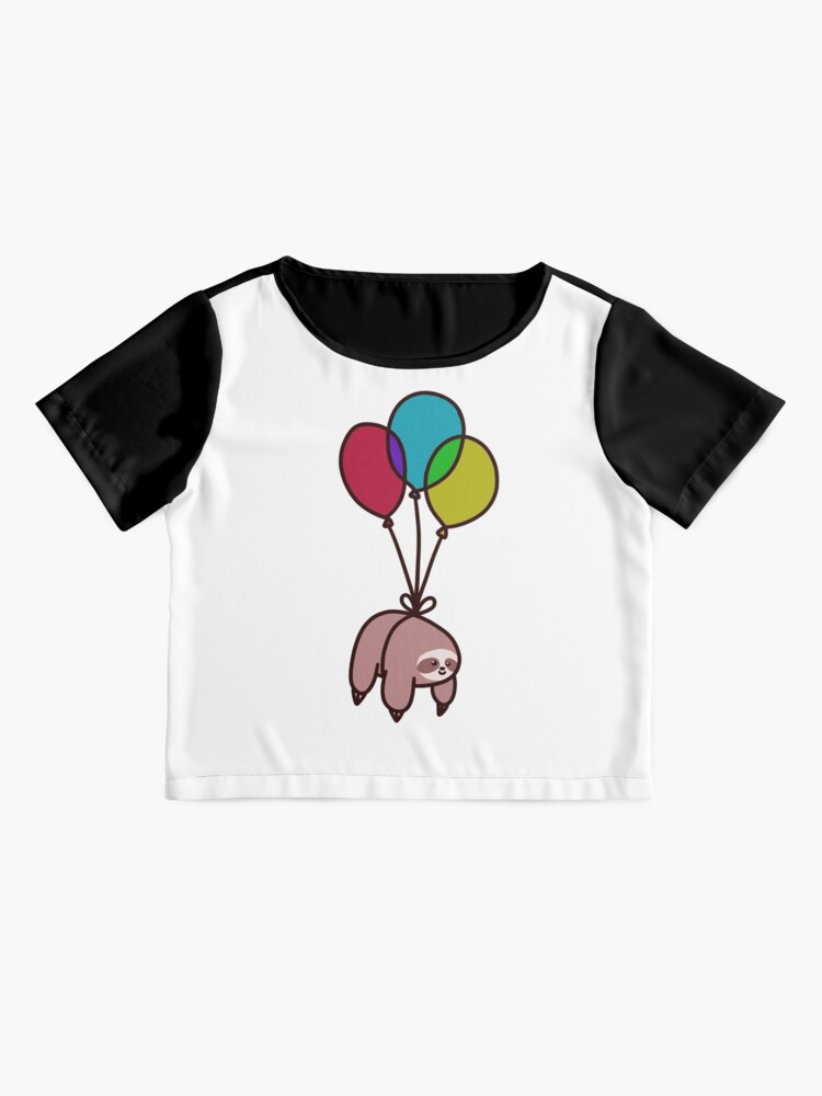 Alternate view of Balloon Sloth Chiffon Top
