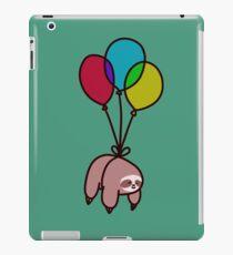 Ballon-Faultier iPad-Hülle & Klebefolie