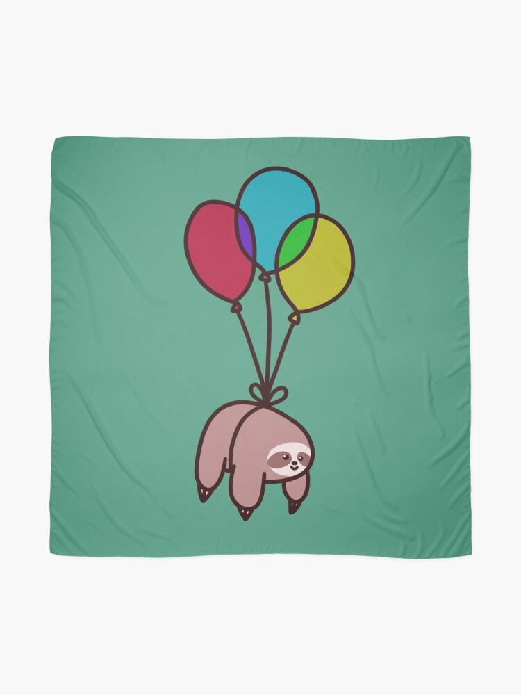 Alternate view of Balloon Sloth Scarf
