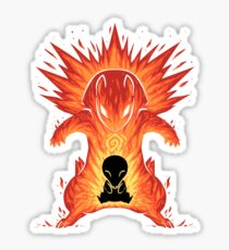 The Explosion Within Sticker