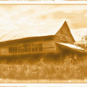 """""""Granny's Mansion (also known as, 'The Big House')""""... prints and products by ArtbyBob"""