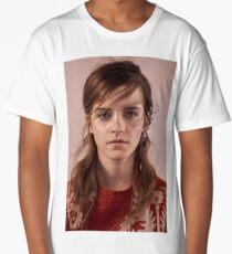Emma Watson - Portrait  Long T-Shirt