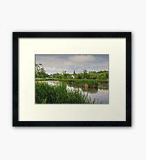 Sackville Waterfowl Park, New Brunswick Framed Print