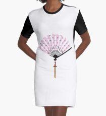 Reflection Graphic T-Shirt Dress