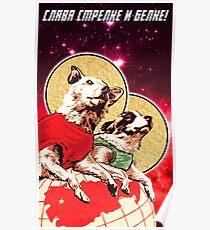 Ehre Strelka und Belka! Poster